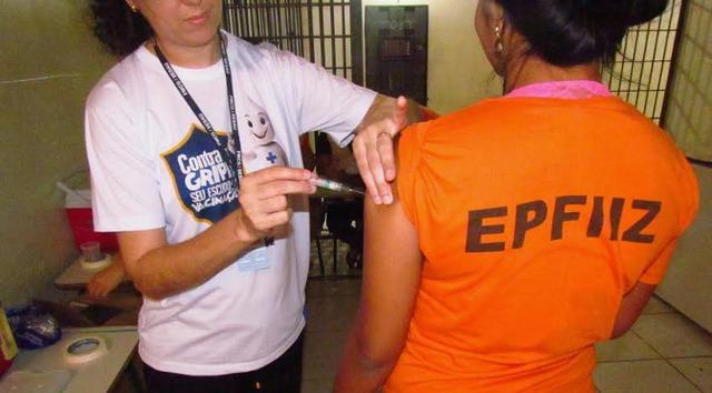 Vacinação em presídios acontece desde 2012 no Brasil - Crédito: Arquivo
