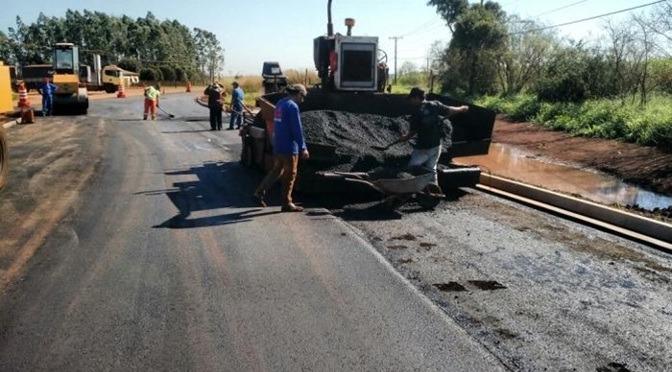 Município de Corguinho e distrito de Taboco vão receber R$ 1,6 milhão para asfalto -