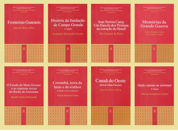 Livros que resgatam a história de Mato Grosso do Sul são lançados ... 6b282736bda20