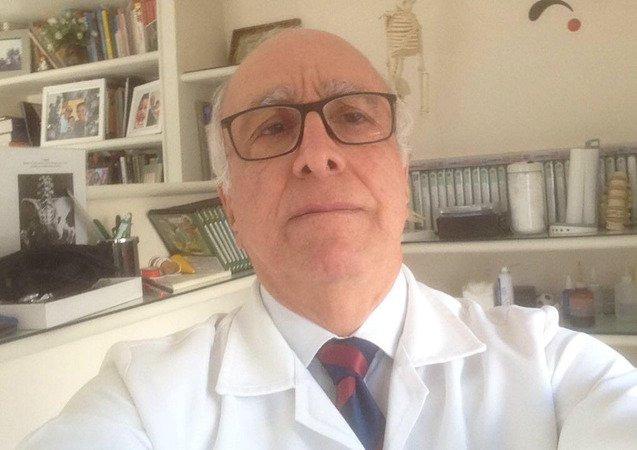 Dr. Farhad Shayani, fundador e presidente da Sociedade Brasileiro de Médicos pela Paz -
