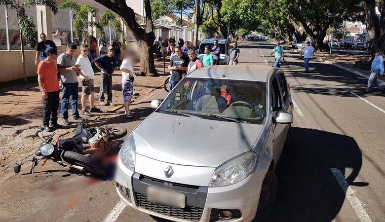 Caso aconteceu em uma das ruas principais da capital - Crédito: foto: Midiamax