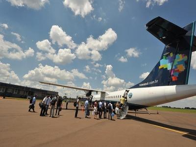 Aeroporto de Dourados terá novos investimentos. Foto: Div -