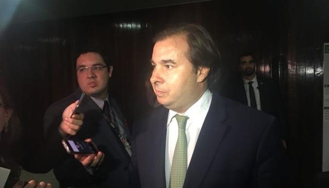 Rodrigo Maia, presidente da Câmara -