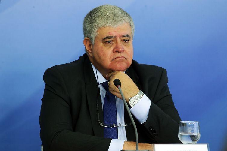 O ministro da Secretaria de Governo, Carlos Marun, disse que  a análise de vetos ao projeto está sendo feita pelo governo - Antonio Cruz/Agência Brasil -