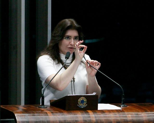 A senadora Simone Tebet - Crédito: MDB-MS