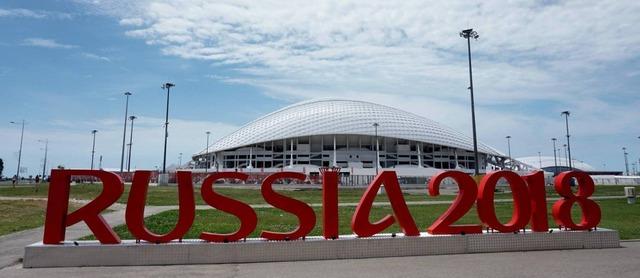 Estádio russo - Crédito: AFP