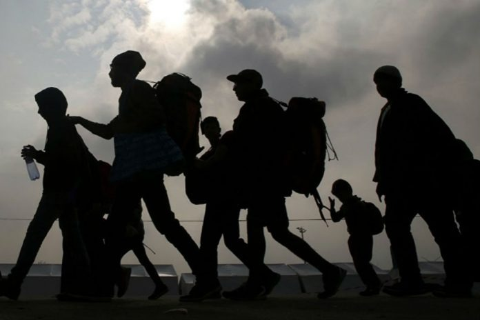 Mundo tem recorde de pessoas deslocadas -