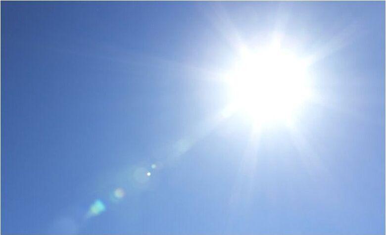 Segunda-feira de sol com baixa umidade relativa do ar -