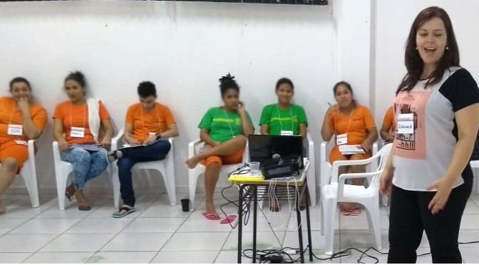 Parceria entre Agepen e Sebrae ensina empreendedorismo a detentas da capital -