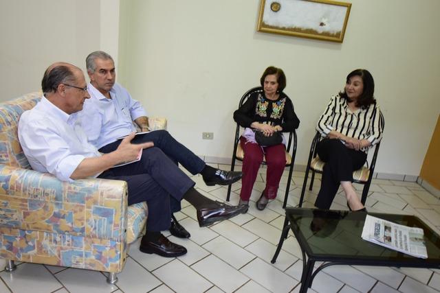 Geraldo Alckimin visita O Progresso - Crédito: Luiz Radai