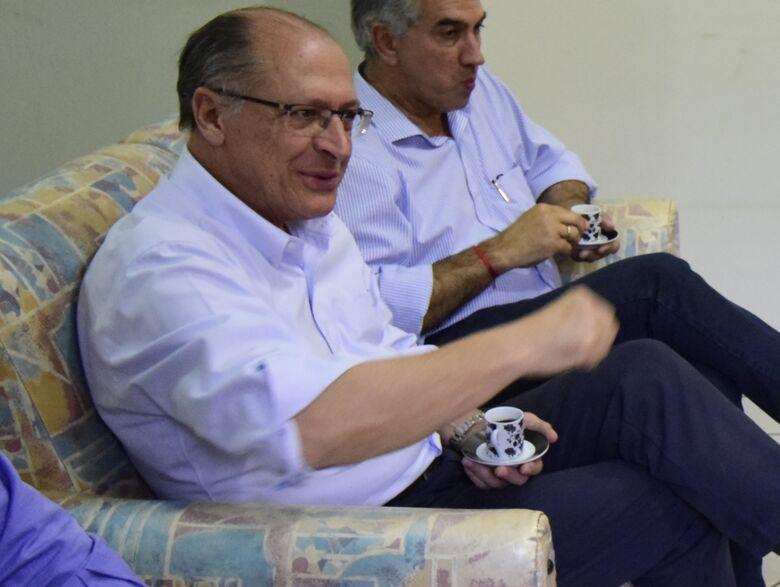 Alckmin diz que campanha começa com tv e rádio - Crédito: Luiz Radai