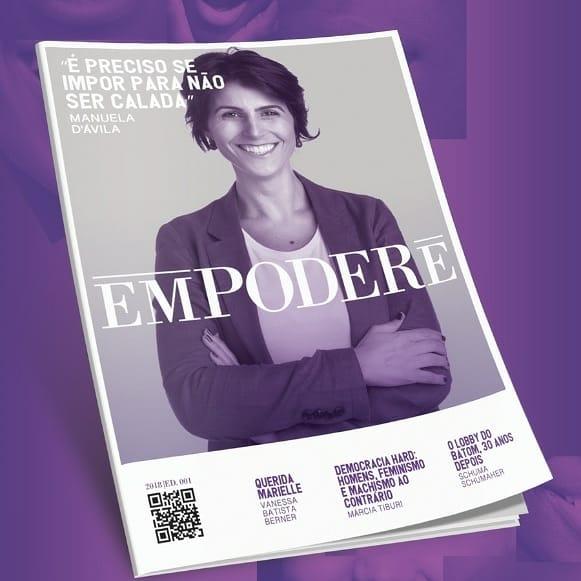 Empodere, a primeira revista feminista do Brasil é lançada amanhã na Capital -