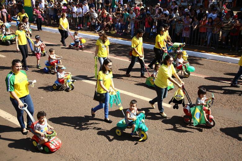 Entidades têm até dia 30 para fazer inscrições para desfile da independência - Crédito: A. Frota