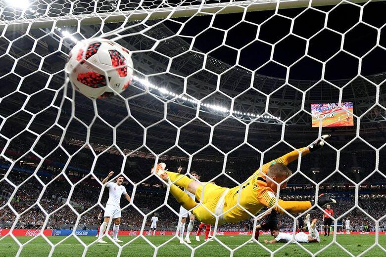 Gol de empate da Croácia foi um golpe de karatê - Crédito: Divulgação/Fifa
