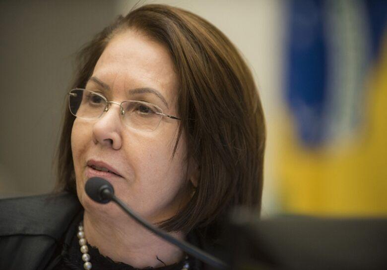 A ministra Laurita Vaz, do STJ - Crédito: Divulgação/STJ