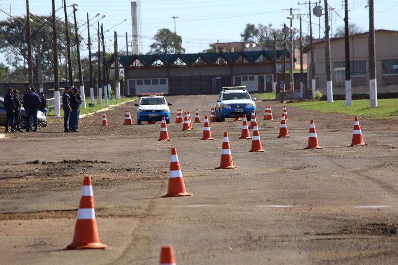 Novos guardas municipais participam de qualificação com a PF - Crédito: A. Frota
