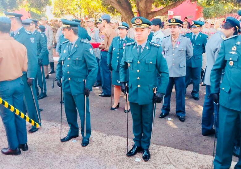 """Comandante da PM de Dourados recebe Medalha """"Imperador Dom Pedro II"""" -"""
