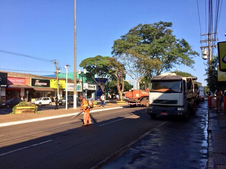Agetran e Governo se reunem para discutir obras e trânsito no centro de Dourados - Crédito: Wilson Duarte