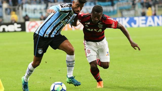 Flamengo e Grêmio é o jogo mais esperado da noite - Crédito: GloboEsporte.com