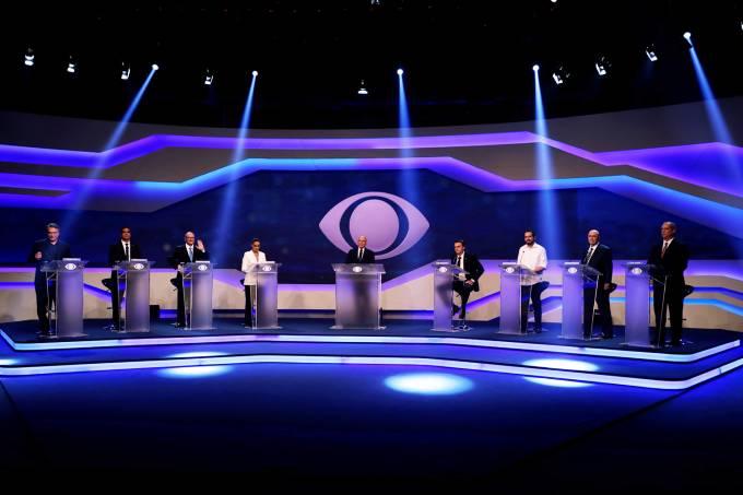 Em debate morno, candidatos ainda se mostram perdidos em relação a alguns temas - Crédito: Paulo Whitaker/Reuters