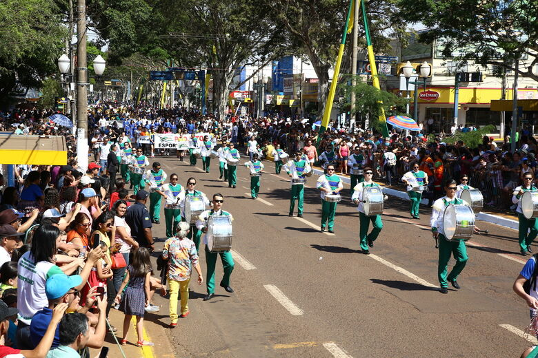 Instituições de ensino têm até 4ª feira para se inscrever no desfile cívico - Crédito: A. Frota