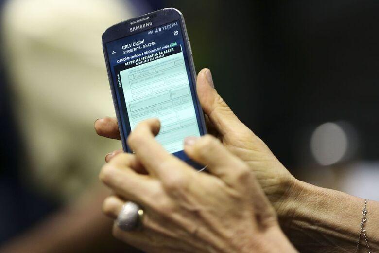 Documentos de veículos também terão versão eletrônica - Crédito: Marcelo Camargo/Agência Brasil