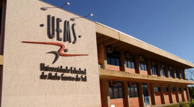 Uems está com inscrições abertas para 11 vagas de professor - Crédito: UEMS