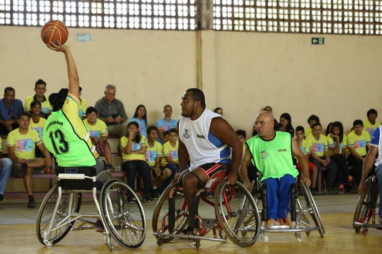 Começou nessa quinta o Festival Dourados Paralímpico - Crédito: A. Frota