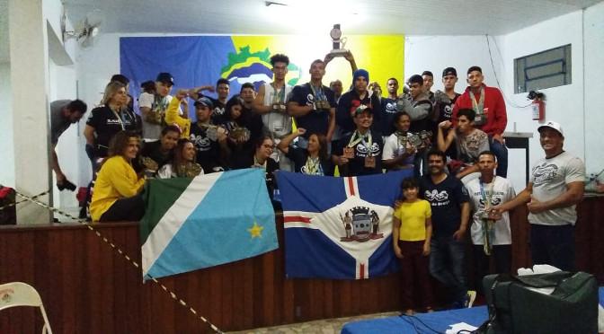 Com 74 medalhas, atletas de MS conquistam 2º lugar no Brasileiro de Luta de Braço - Crédito: Federação Luta de Braço