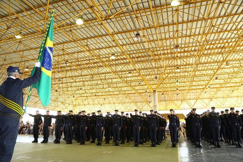 Prefeitura forma turma com 92 novos agentes da Guarda Municipal - Crédito: A. Frota