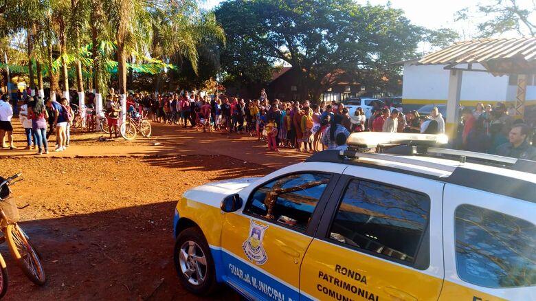 Guarda Municipal intensifica ações preventivas nas escolas - Crédito: Divulgação/GM Dourados