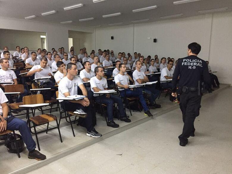 Treinamento envolveu conhecimento de inúmeras forças de segurança - Crédito: Divulgação