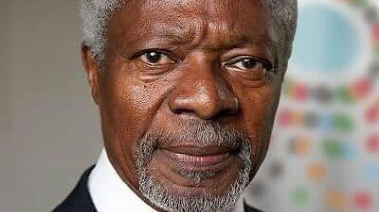 Kofi Annan, ex-chefe da ONU e Prêmio Nobel da Paz, morre aos 80 anos - Crédito: Divulgação