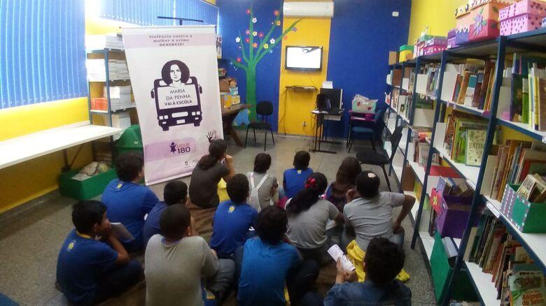 Agosto Lilás leva conscientização às escolas - Crédito: Divulgação/CPPM