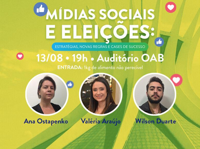 Mídias Sociais e eleições serão discutidas no dia 13, em Dourados -