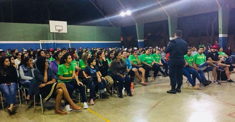 """Projeto """"Diga Não ao Crime"""" leva palestra preventiva a 1.750 alunos em Dourados -"""