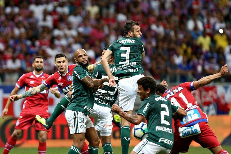 Palmeiras vence e se classifica para a semifinal da Copa do Brasil - Crédito: Felipe Oliveira