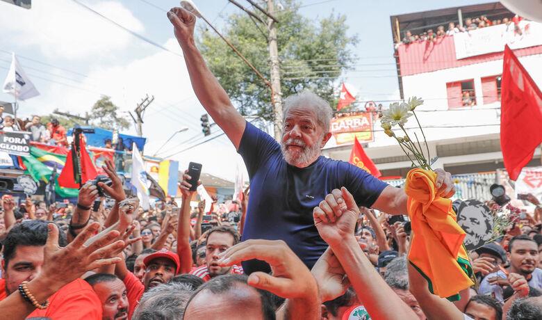 Pesquisa CNT/MDA aponta Lula líder com folga - Crédito: Ricardo Stuckert