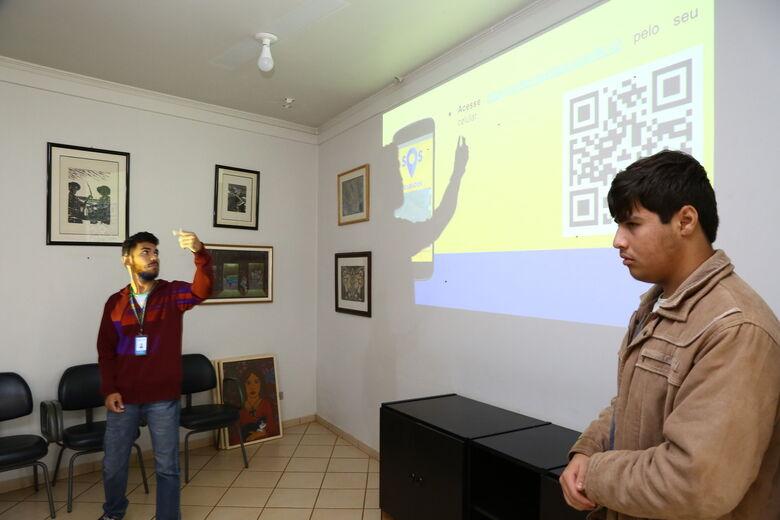 Alunos do IFMS apresentam protótipo de aplicativo que vai aproximar cidadão e Prefeitura -