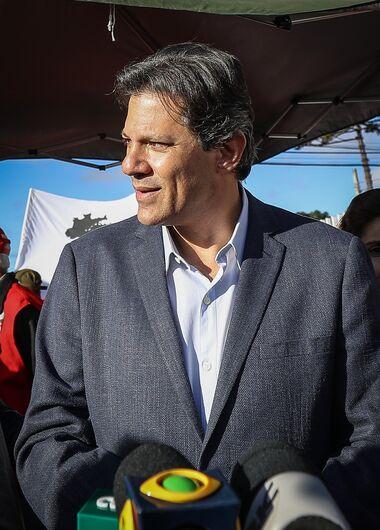 PT indica Haddad no lugar de Lula na disputa presidencial - Crédito: Ricardo Stuckert/Fotos Públicas