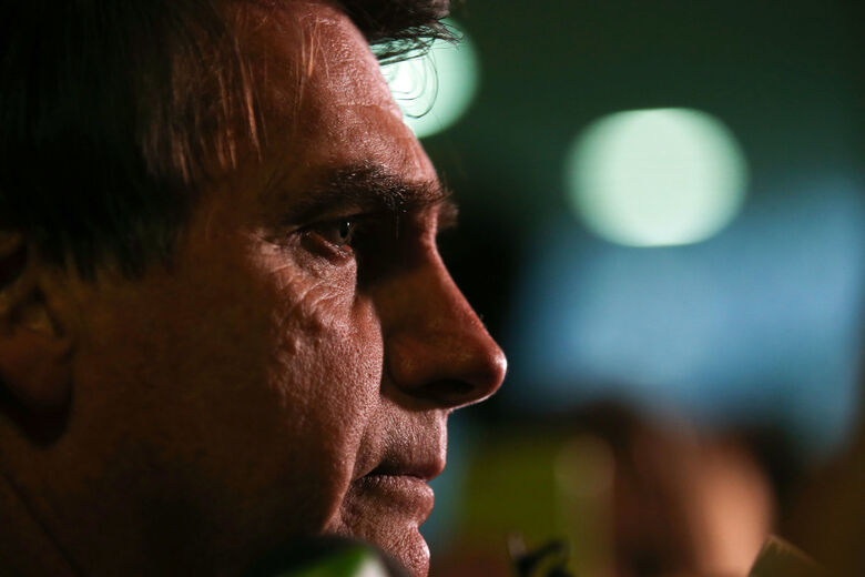 Jair Bolsonaro é ferido com faca durante campanha em Juiz de Fora - Crédito: Fabio Rodrigues Pozzebom/Fotos Públicas