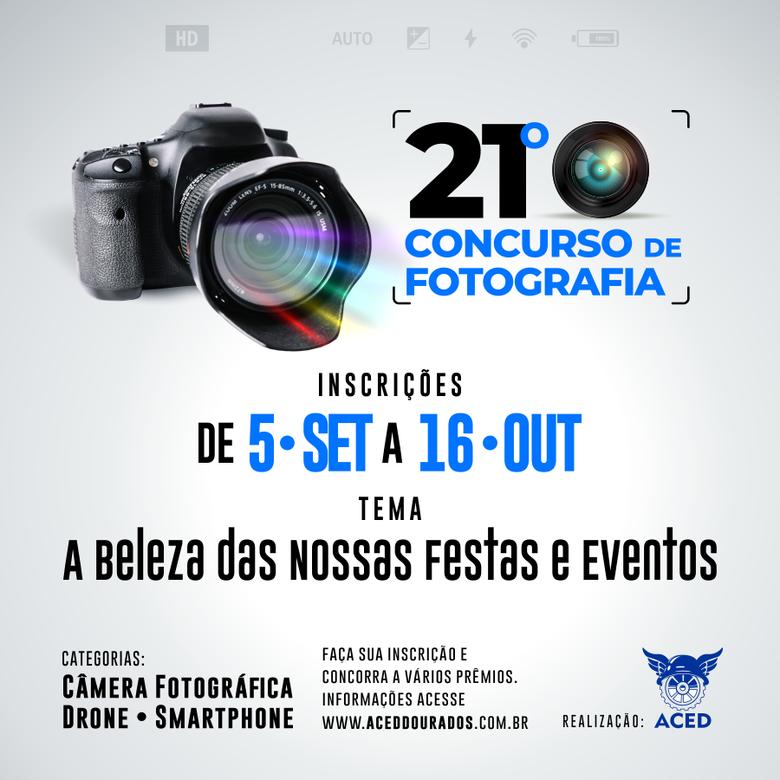 """Aced abre inscrições para Concurso de Fotografia com tema """"Festas e Eventos"""" - Crédito: Divulgação"""