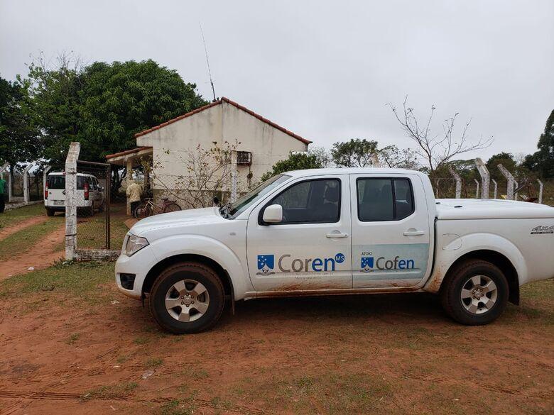 Força tarefa do Coren-MS fiscaliza postos de saúde em aldeias indígenas - Crédito: Coren-MS