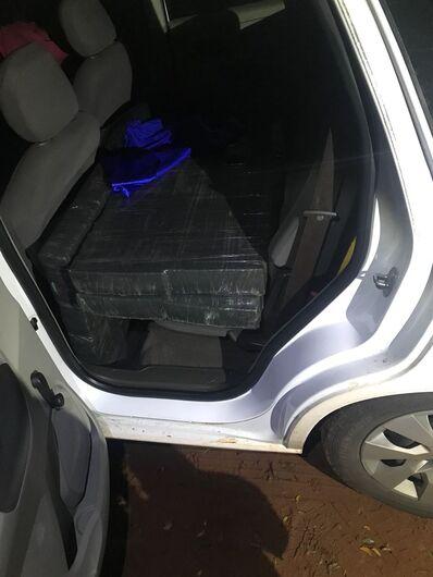 DOF recupera veículo roubado carregado com droga na MS-289 - Crédito: Divulgação