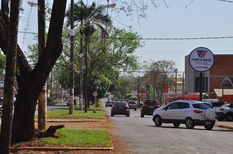 Prefeitura autoriza Estado a licitar obra de reestruturação da avenida Hayel Bon Faker - Crédito: A. Frota