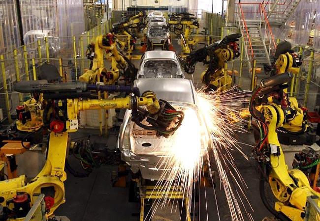 Produção industrial cai 0,2% de junho para julho -