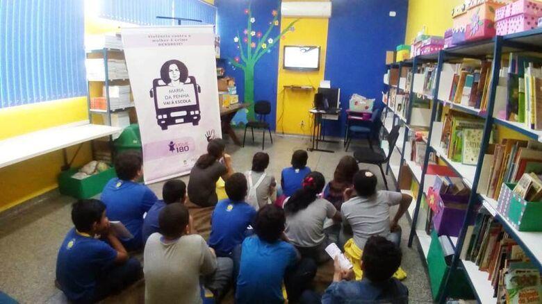 Conscientização sobre violência contra a mulher alcança mais de 6 mil alunos - Crédito: A. Frota