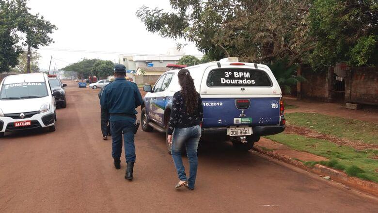 Jessica foi presa, junto com Joel, no dia do crime em Dourados - Crédito: Divulgação/PM