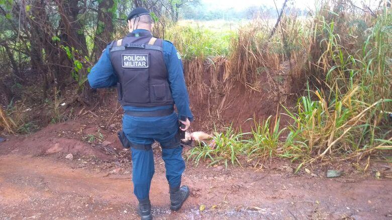 Corpo encontrado na rua dos Caiuás é de Josivan Alves de Lima - Crédito: Cido Costa