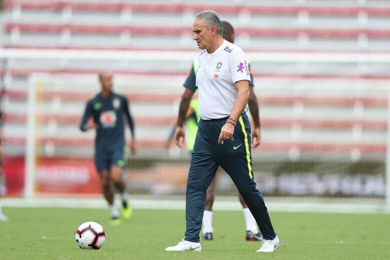 Seleção brasileira terá seis mudanças para amistoso contra El Salvador - Crédito: Lucas Figueiredo/CBF